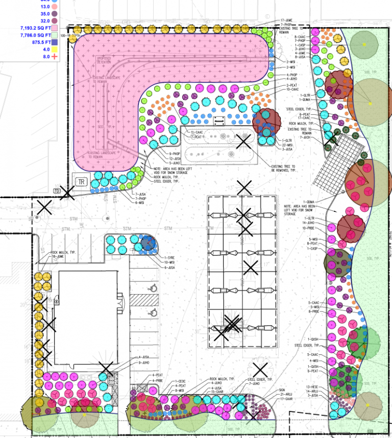Marked Plans Sitework